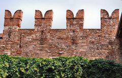 Particolare della muraglia di Verona