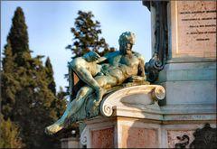Particolare della statua di David