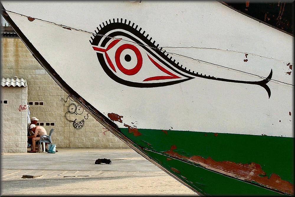 Particolare di barca tipica