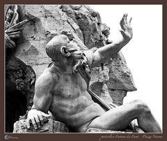 particolare Fontana dei Fiumi - Piazza Navona 04