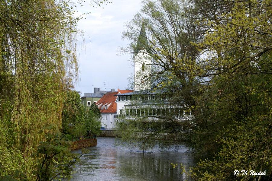 Partie an der Amper, Fürstenfeldbruck, Bayern