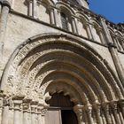 Partie centrale de la façade de l'Eglise Saint-Jacques  -  XIIème