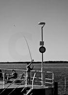 Partie de pêche au Moulleau