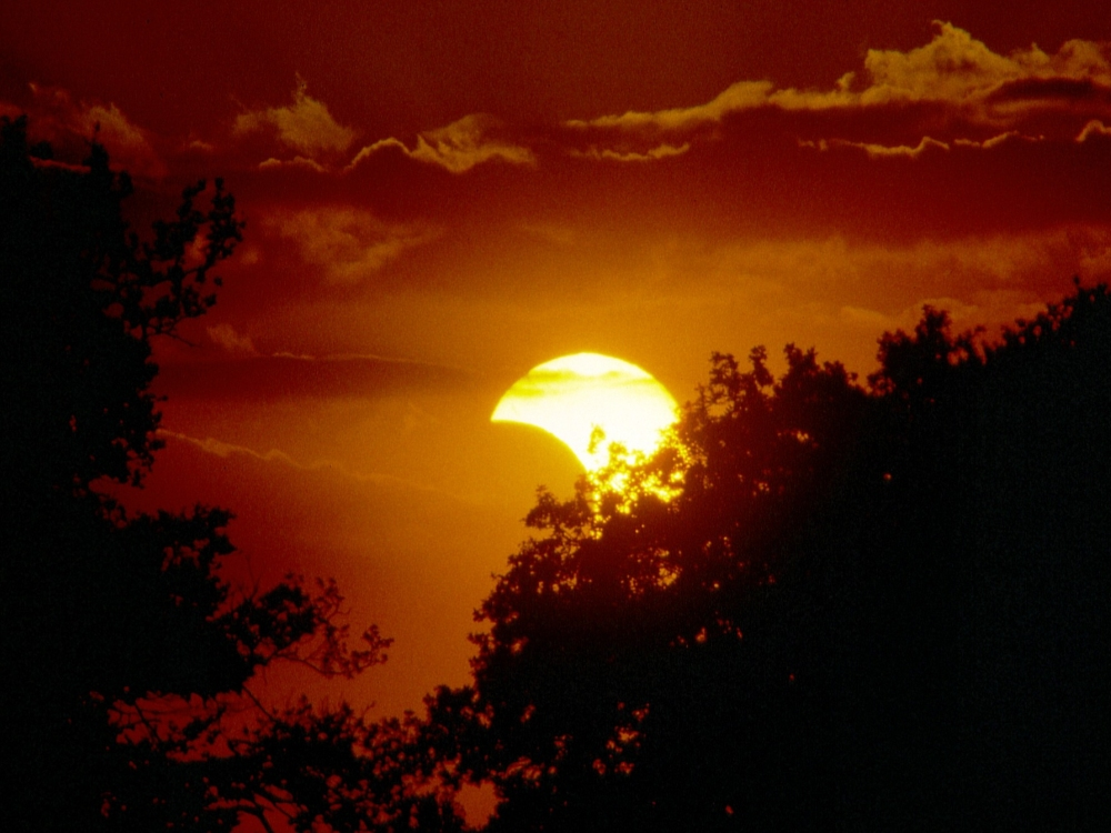 Partielle Sonnenfinsternis vom 10.05.1994