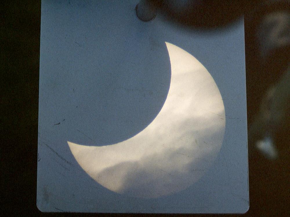 Partielle Sonnenfinsternis vom 12.10.1996