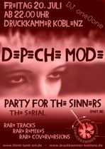 ... PARTY for the SINNERS - PART III [the serial]