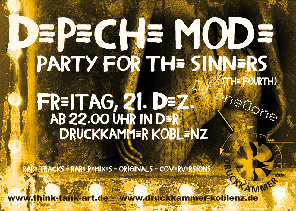 .... party for the sinners - part IV ...