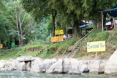 Party Mile in Vang Vieng