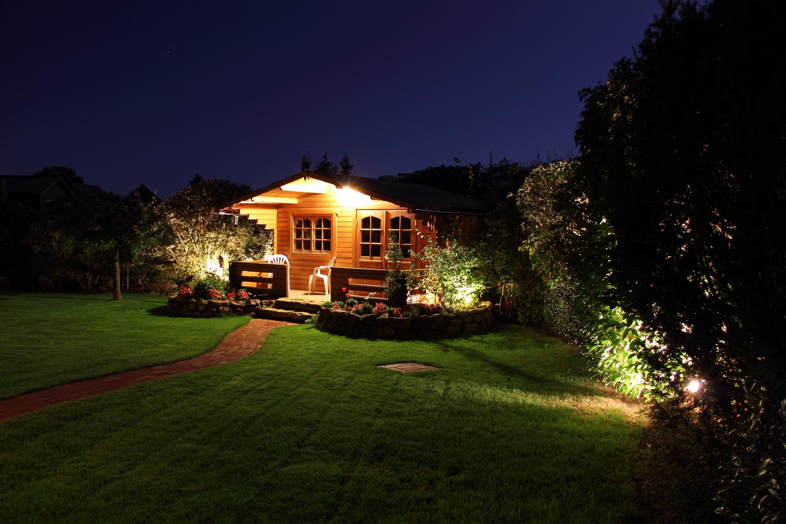 Partyhütte im Garten