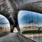 Pasarela Madrid Río HDR