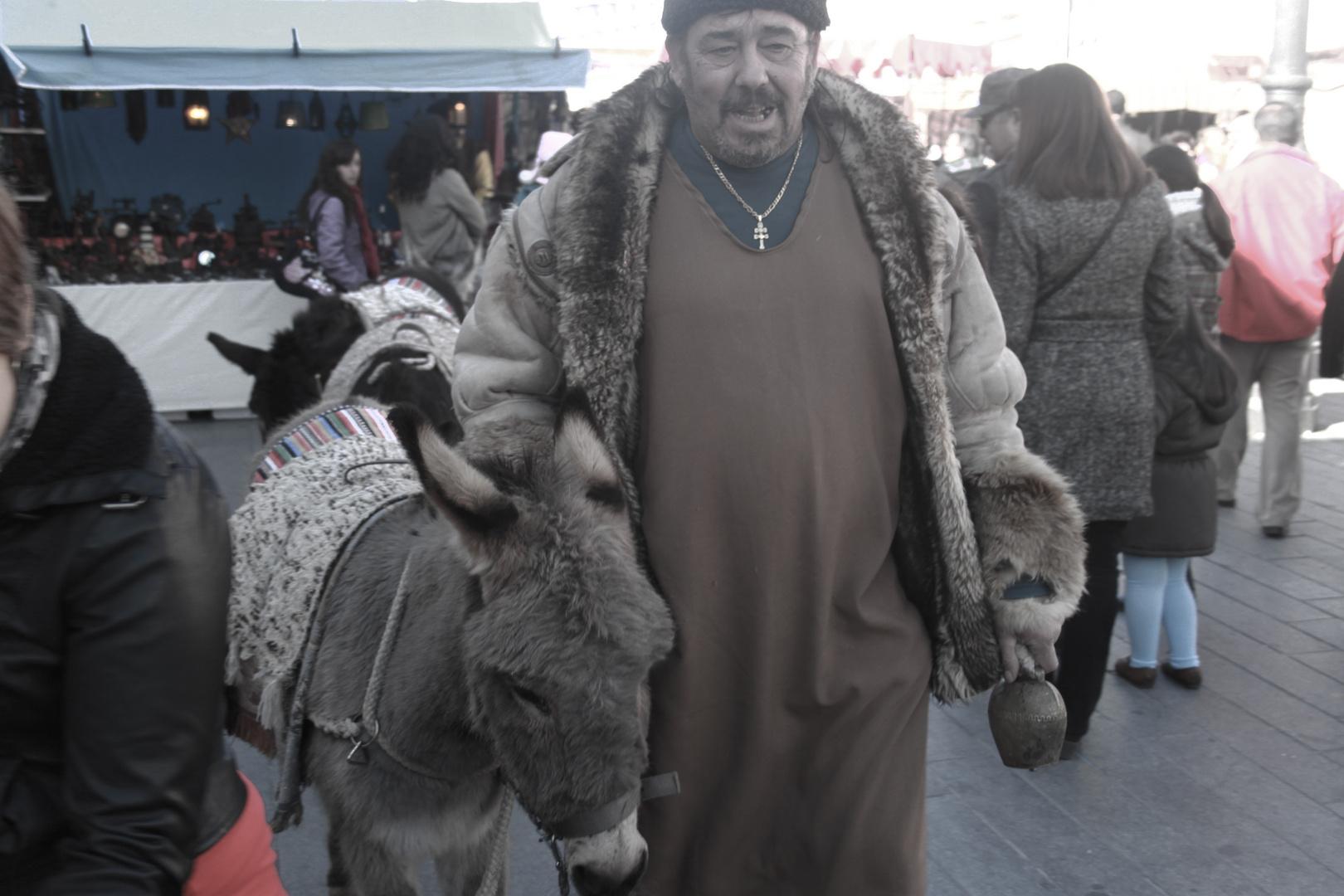 paseador de burros