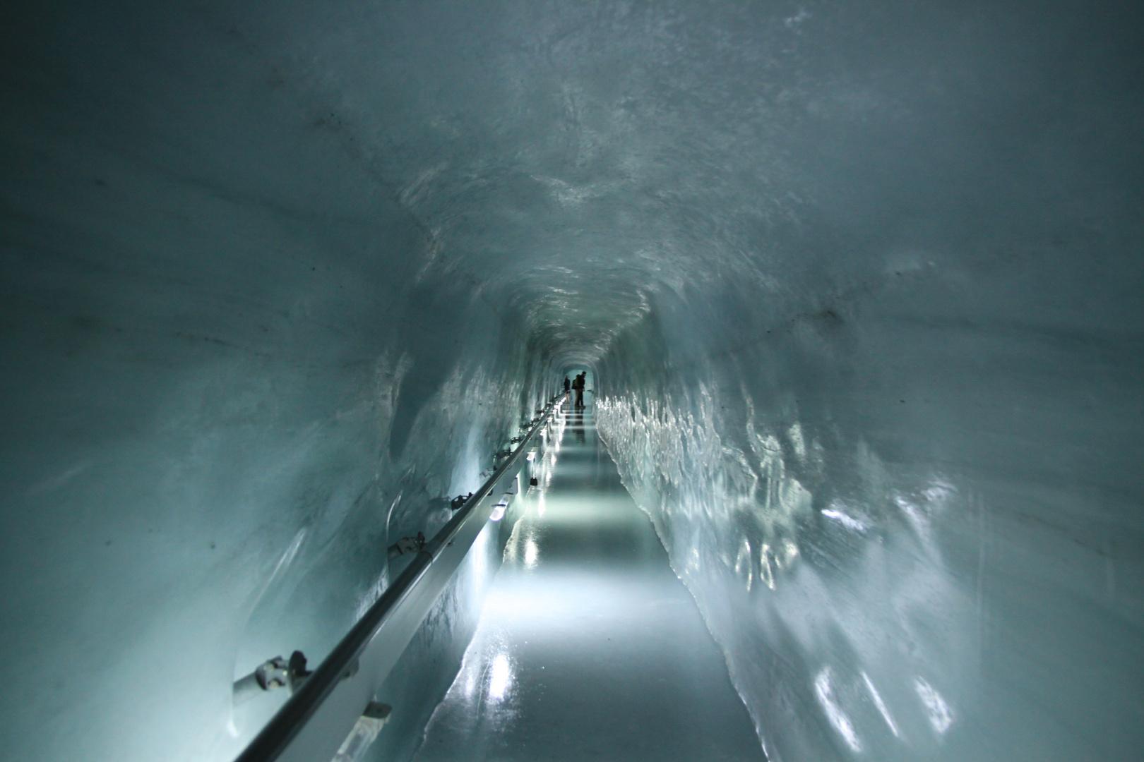 Paseando entre el hielo
