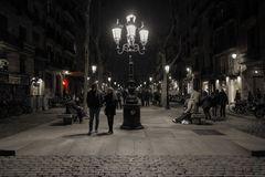 Paseando por el Born (Barcelona)