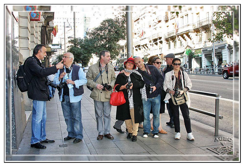 Paseando por la Gran Via de Madrid GKM3