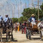 Paseo de Caballos y Enganches en el Real de la Feria