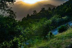 Pass highway to Baracoa