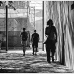 Passage à l'ombre