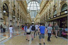 Passage Victor Emanuelle II in Milano...
