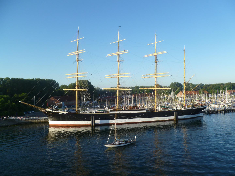 Passat -Segelschiff - Travemünde