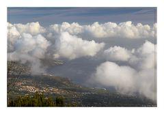 Passatwolken über La Palma