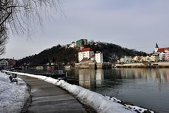 Passau - am Ufer der schwarzen Donau