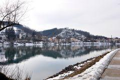 Passau - am Ufer des hellen Inn
