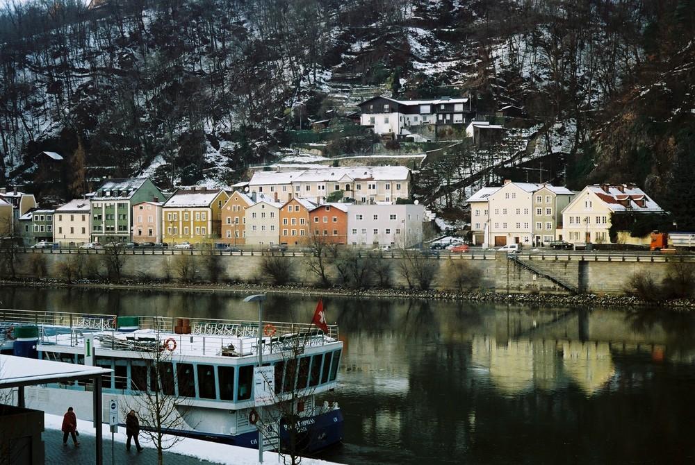 Passau an einem Novembertag 2008