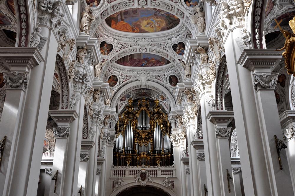 Passau Dom Die Größte Dom Orgel Der Welt Foto Bild