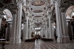 Passau - Dom - dreischiffige Basilika