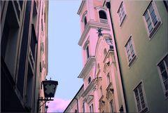 Passau - Fassadenblick