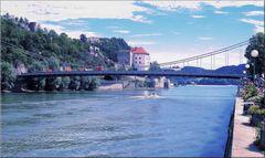 Passau - Flussblick