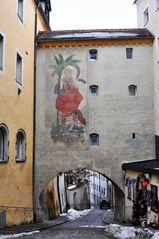 Passau - Gasse in der Altstadt