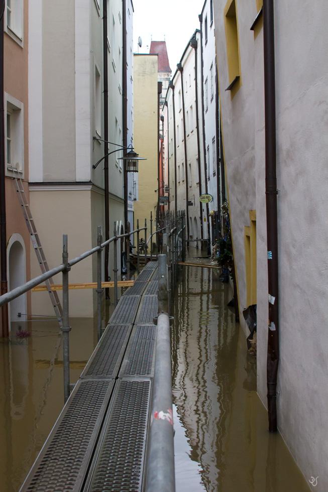 Passau Hochwasser 2011 C Foto Bild Stadtdorf World Bilder Auf