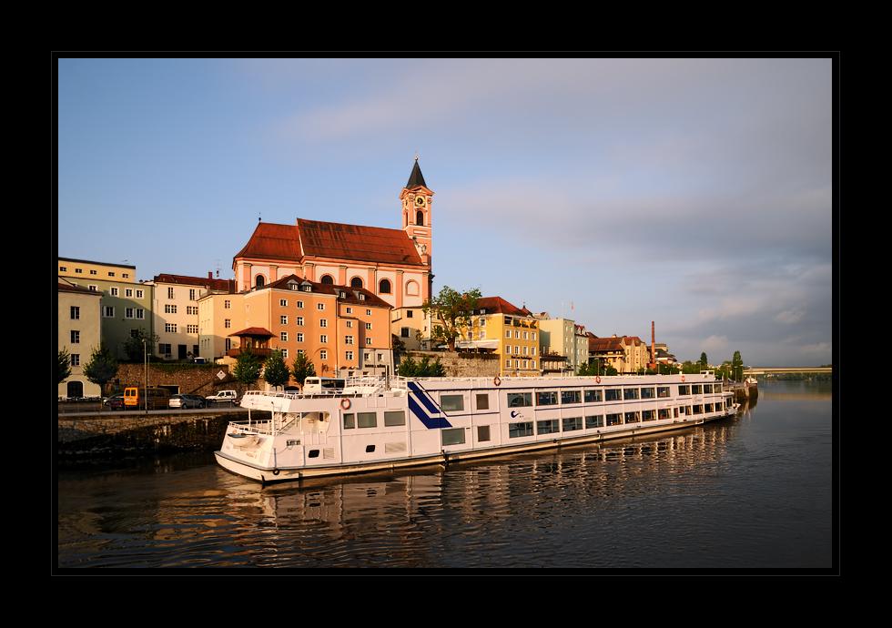 Passau im Morgenlicht