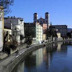 Passau Innfront - Mitte Februar