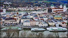 Passau nach dem Hochwasser