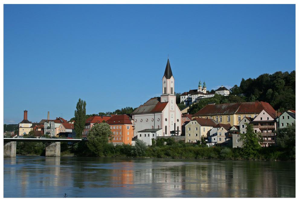 Passau - Start der Donau- Radtour