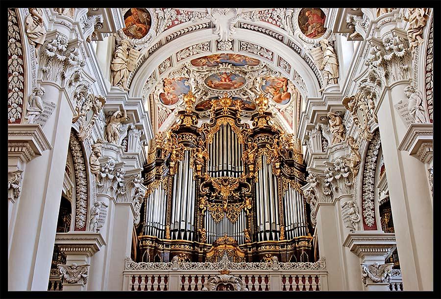 Passauer Domorgel Von St Stephan Foto Bild Deutschland Europe