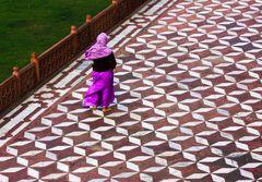 Passeggiando ad Agra
