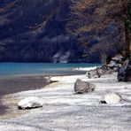 Passeggiando in riva al lago