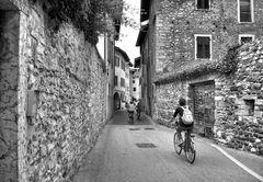 *Passeggiata in bicicletta*