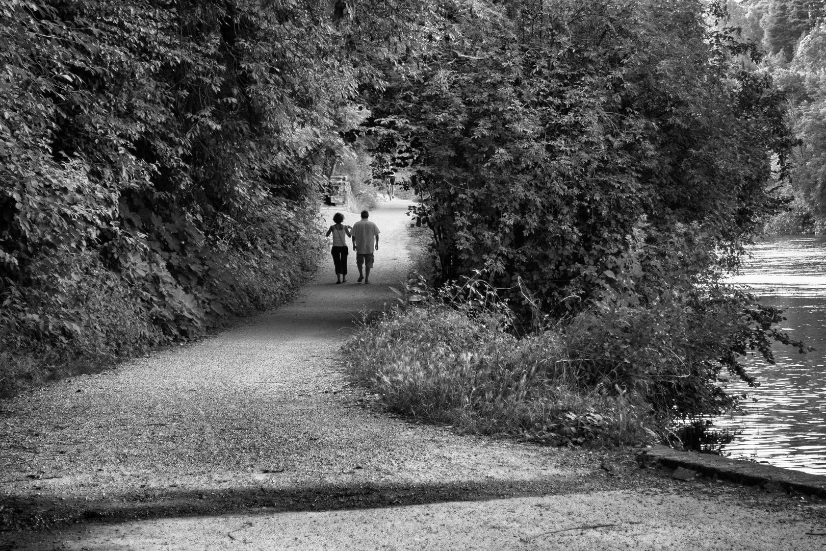 Passeggiata lungo il fiume Adda