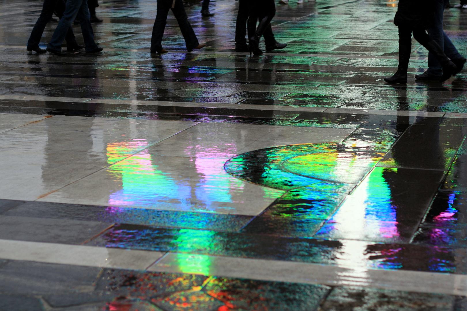 passegiata sui colori
