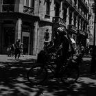 Passeig b&n bicing