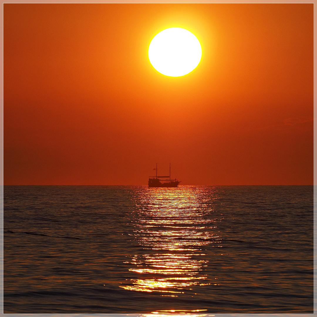 Passend zum heutigen Sonnenuntergang...