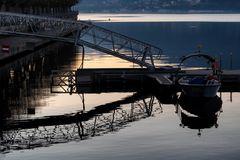 Passerella del porto