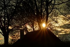 ~~~ passgenauer Sonnenuntergang ~~~