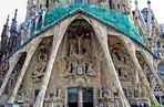 Passion Façade of the Sagrada Família, Barcelona
