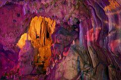 Pastell-Höhle