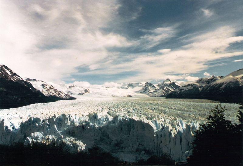 PATAGONIA ARGENTINA - FRONTE DEL PERITO MORENO
